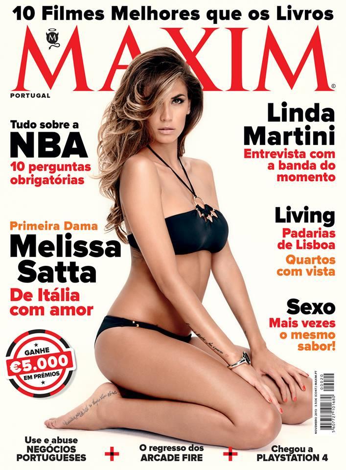Maxim Outubro Portugal 2013 - Olivia Ortiz